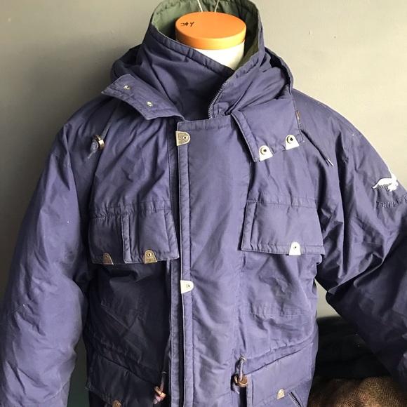 e952240bac4 Triple F.A.T. Goose down parka jacket trench Xl